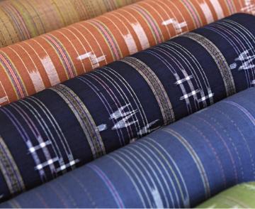 沖縄の伝統絣織物 琉球絣