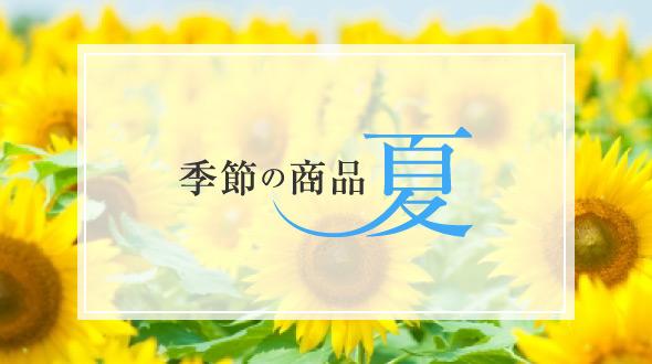 季節の商品 夏のおすすめ